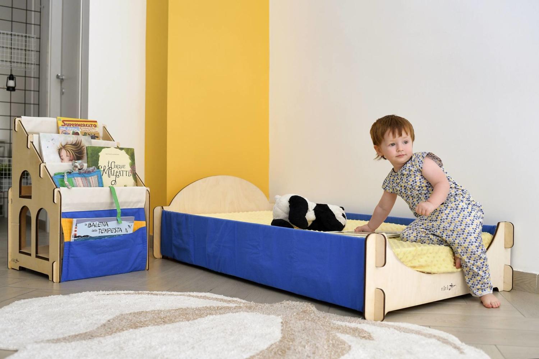 montessori letto per bambini