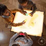 montessori light table