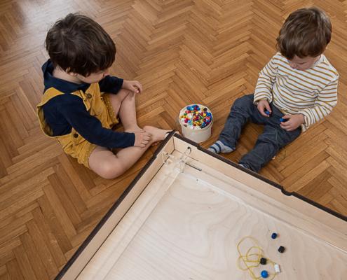montessori light table
