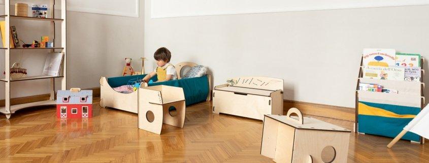 Montessori child's bedroom
